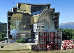 Odeillo-Font Romeu CNRS Solar furnace